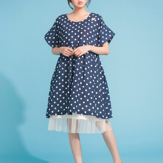 Small fresh little dress 123F381
