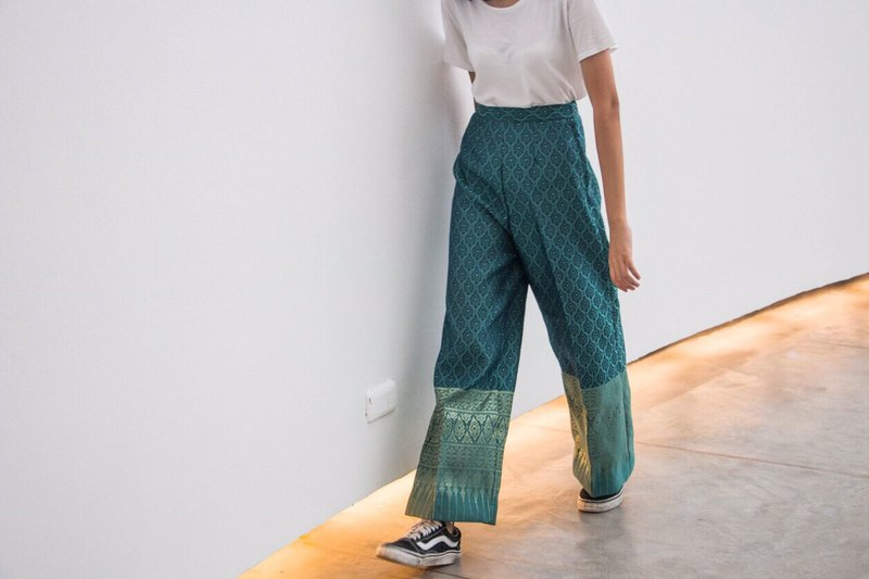 Beautiful Synthetic Silk Trousers for Women