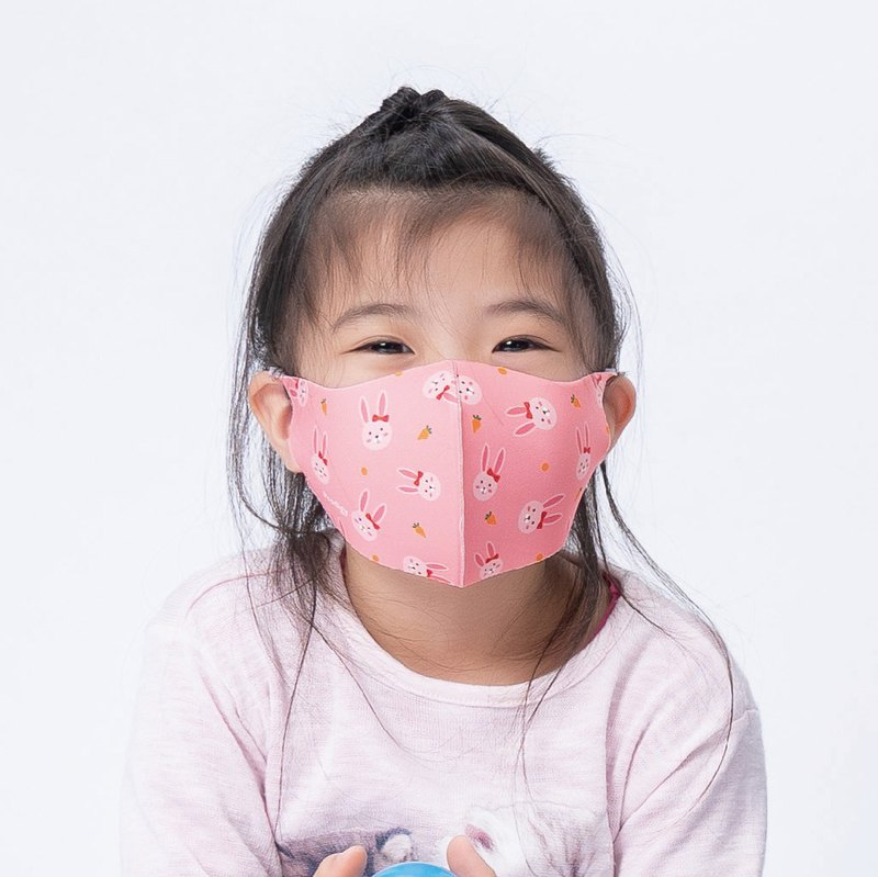 Children-Playful Bunny-3D Three-dimensional Breathable Mask 1 in