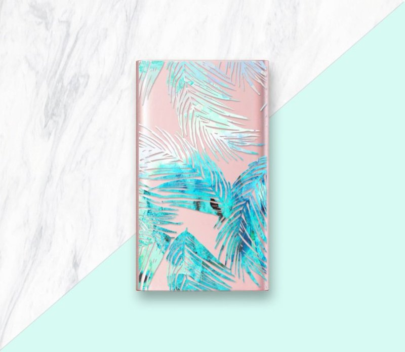 Tropical Power Bank, Rose Gold Phone Charger, Gold iPhone Charger