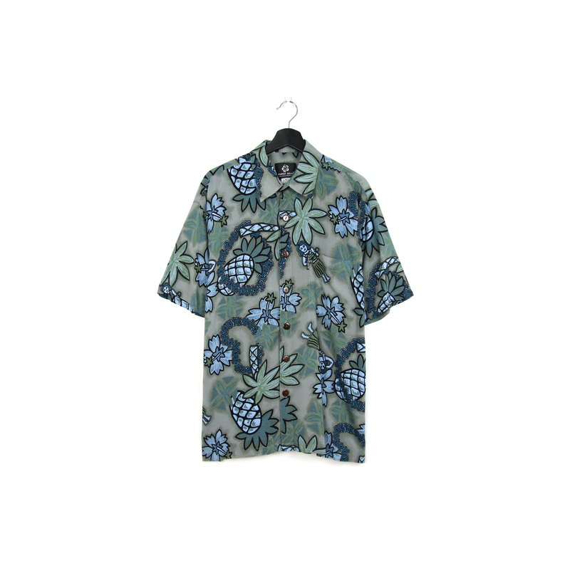 Back to Green:: Flower Shirt Rotate Hawaii //vintage shirt