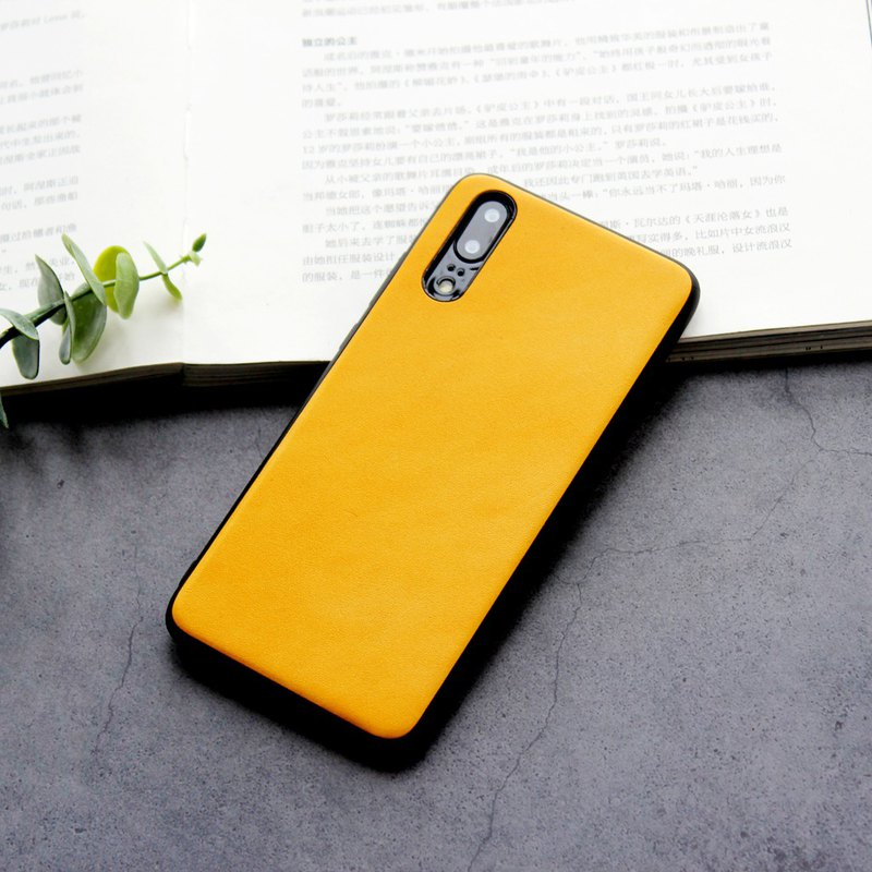 HUAWEI Huawei leather mobile phone shell top layer cowhide mobile phone case p20 p30 mate20 pro
