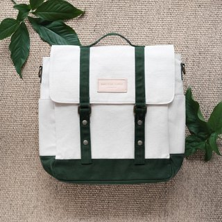 KELLY BAG - White/Green