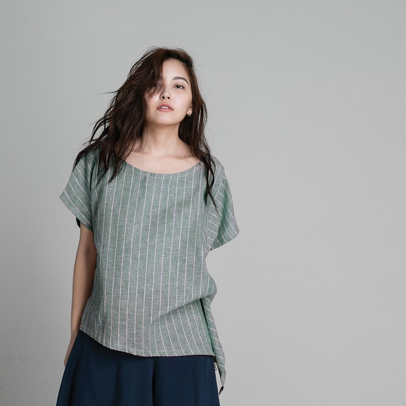 T-shirt - Forest Stripe