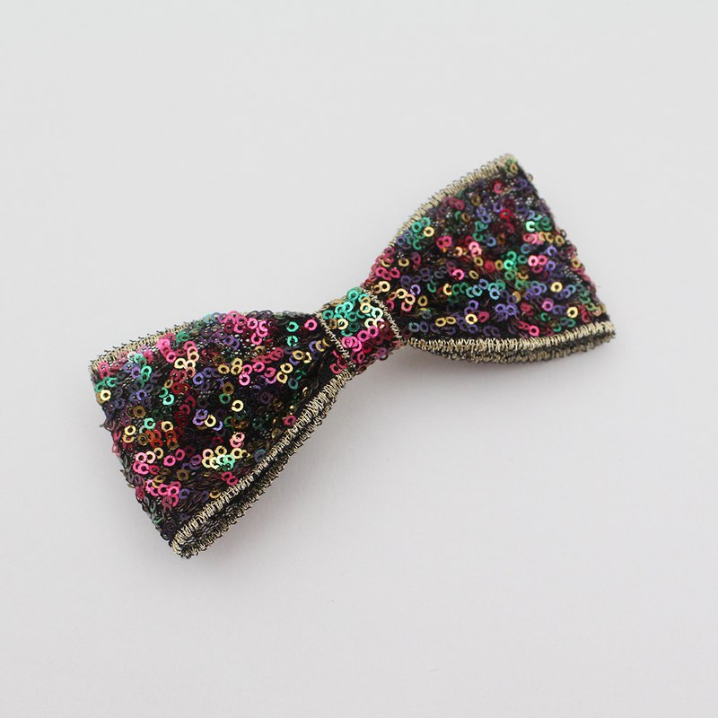 Bling bling rainbow beads hairclip