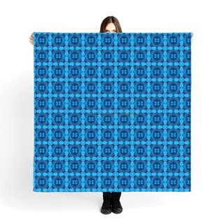 "Large Scarf / Sarong""Soho"" 140x140cm Limited Edition 250 pieces"
