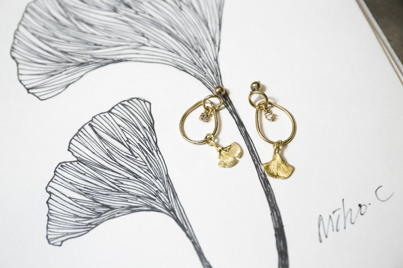 Stellar Series-Ginkgo Earrings