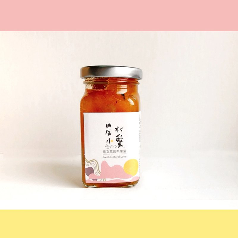 Organic pineapple and pineapple jam