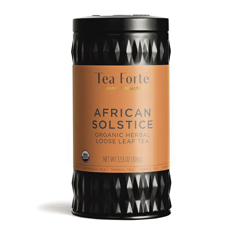 Tea Forte Canned Tea Series - South African Red Leaf Tea African Solstice