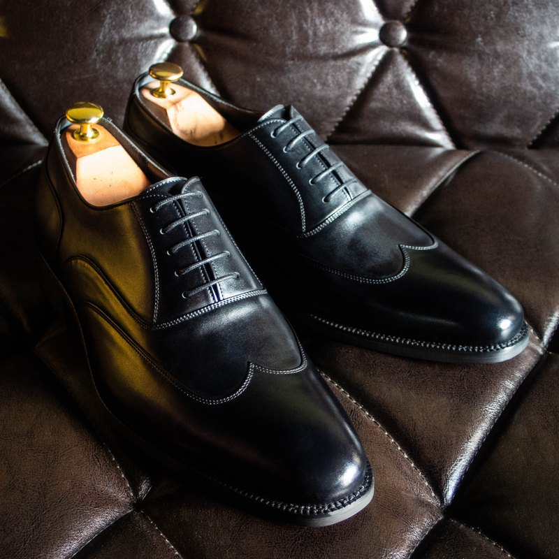 REGENT 簡約翼紋牛津-黑 / Austerity Brogue Oxford-Black