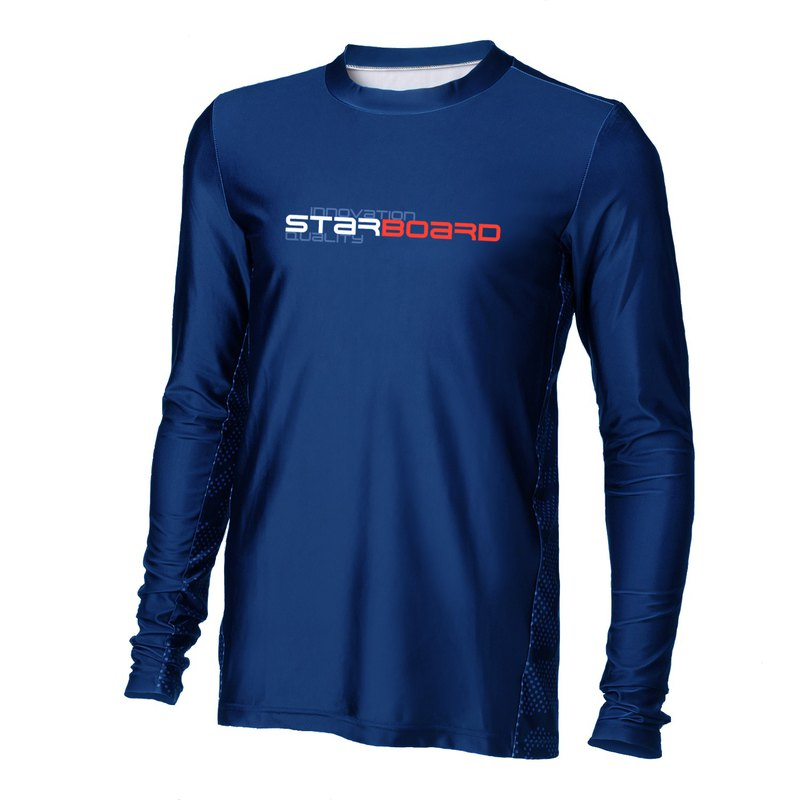 STARBOARD BLUE sun protection clothing anti-wear clothing men