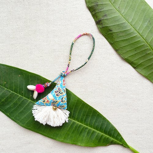 DUNIA世界製造所 /Samosa bag charms/ 金三角吊飾#3