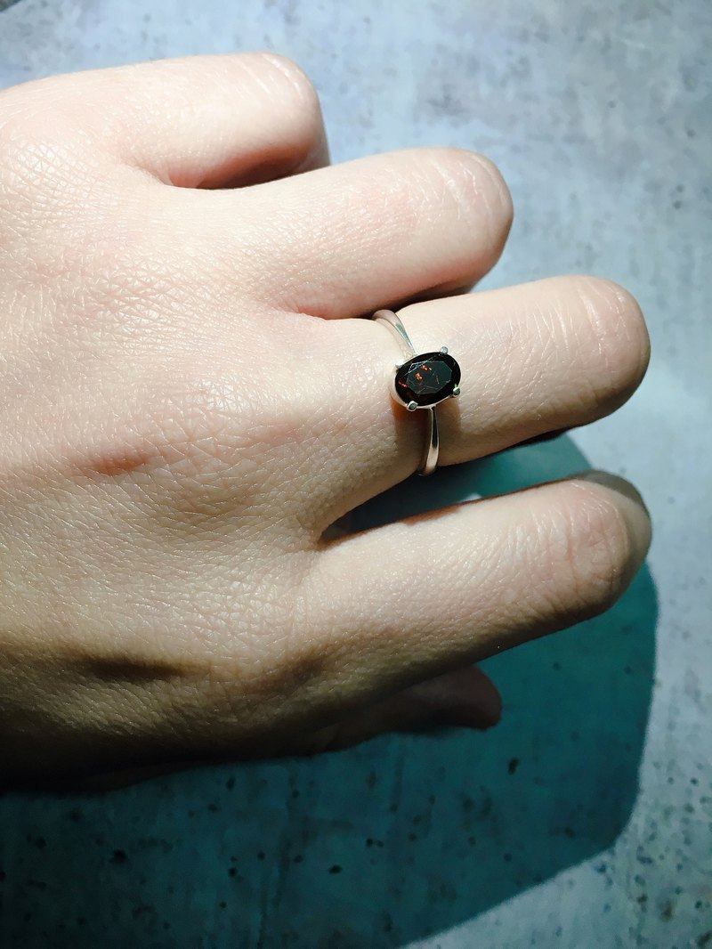 4 different Black Opal Finger Ring Handmade in Nepal 92.5% Silver