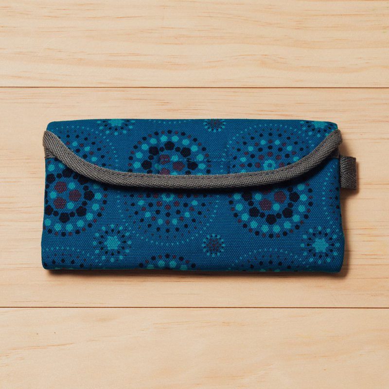 Eyeglasses Sleeve/Firework/Twilight Blue