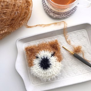 Handmade melon cloth - single eyelid Shiba Inu