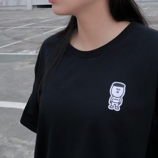 1G basic models __ black short T