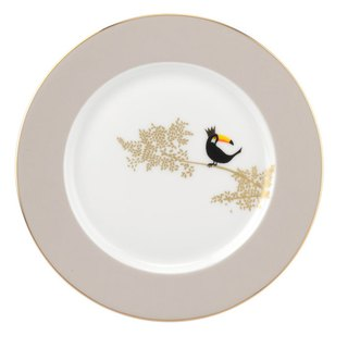 Sara Miller London for Portmeirion Piccadilly Collection Cake Plate - Toucan