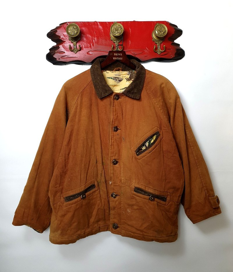 Little Turtle Gege - Painter's Lighthearted Hunting Jacket