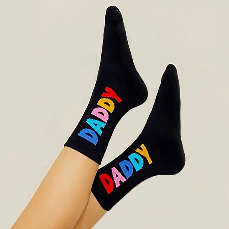 Daddy Socks (Black)