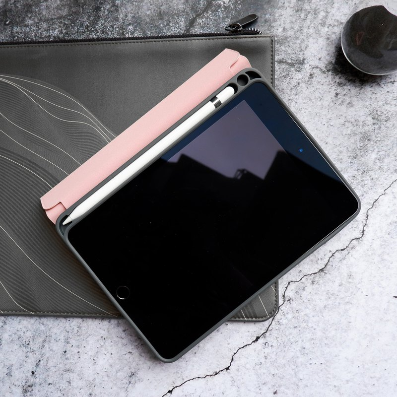 Lucid+Folio_Shock Resistant Folio Case w/Apple Pencil Slot for iPad mini 2019
