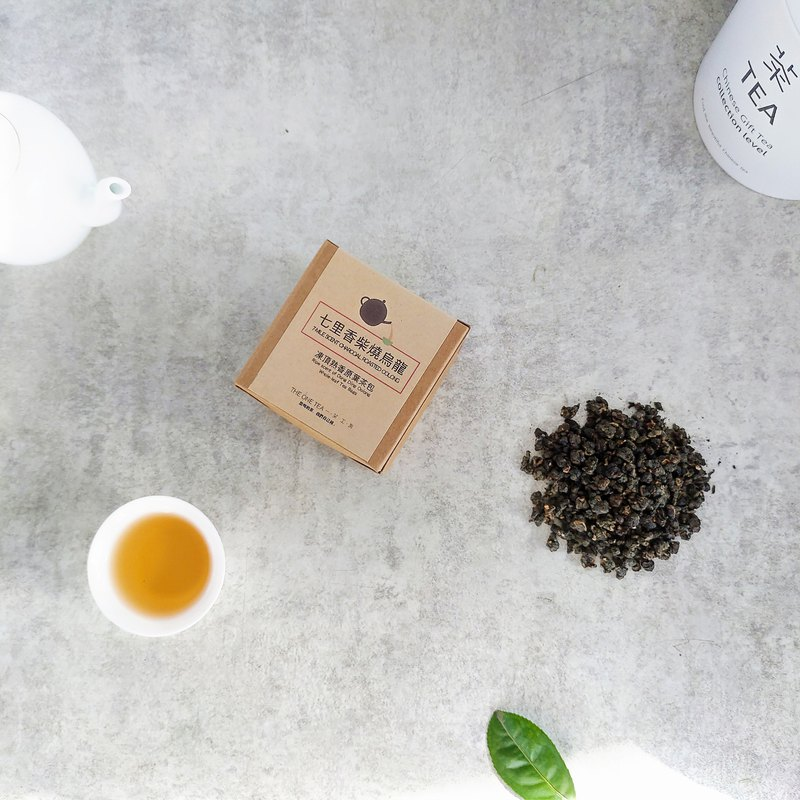 7-Mile Scent Charcoal Roasted Oolong Whole-leaf Tea Bags