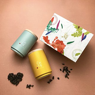 【Renaissance of tea】Flower letter Tea gift box / Quality Oolong Tea Gift