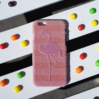 ShibaCAL by Shibaful Flamingo for iPhone case スマホケース