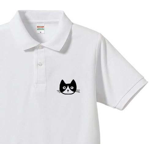 1 point EVERYONE IS DIFFERENT AND THAT'S OK - Cat series - More polo shirts [Made to Order]