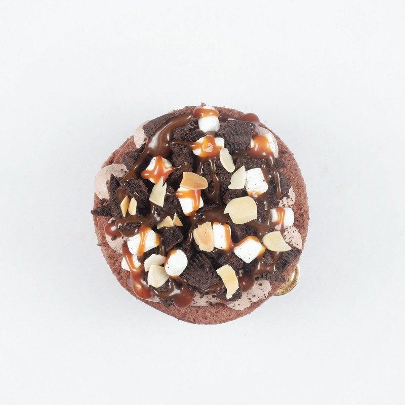 <巧思嗑系列>焦糖巧克力幕斯 3.5吋蛋糕