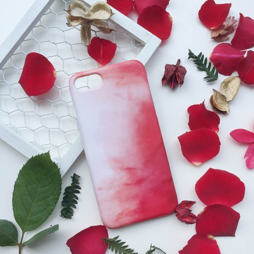 Rose Red Mobile Shell Hard Shell iPhone Android