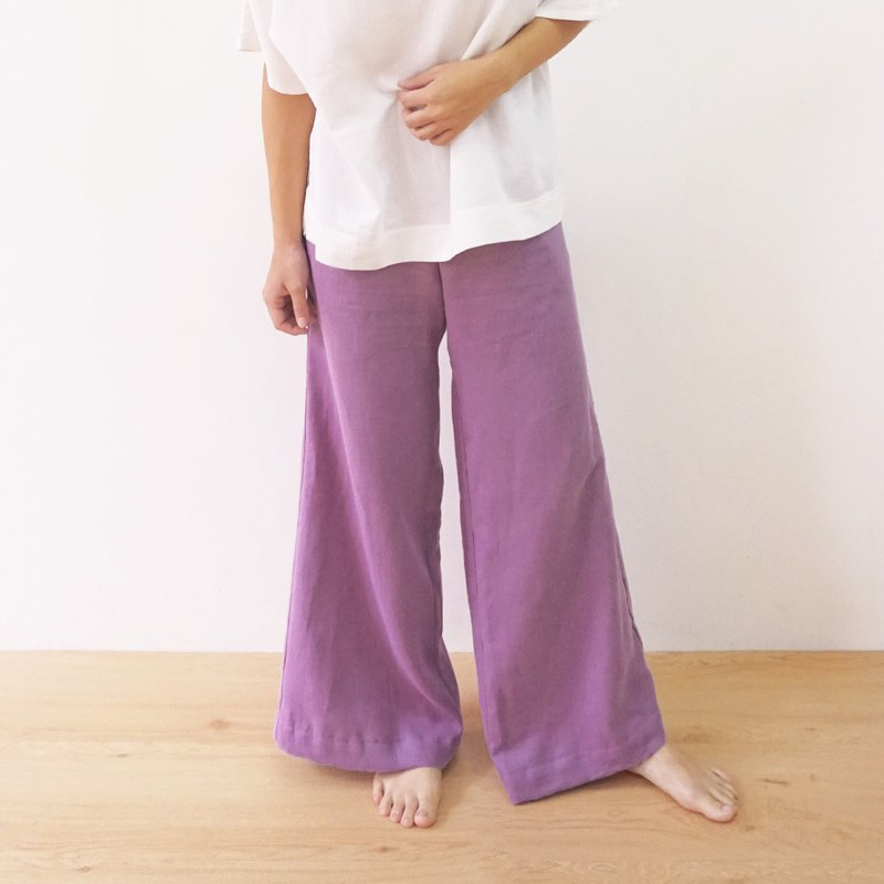 Harmony yarn wide mouth pants