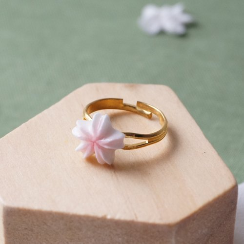 Sakura Cherry Blossom Ring =Flower Piping= Customizable