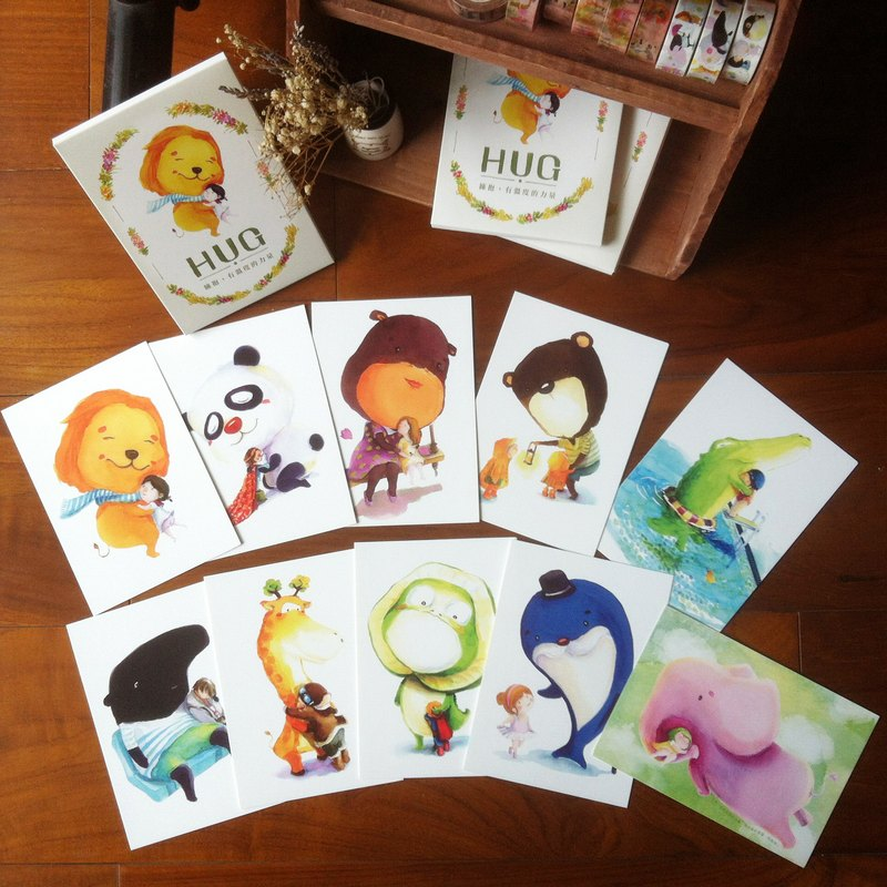【HUG series 】Postcard
