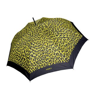 [Italy H.DUE.O] Leopard fashion UV straight umbrella