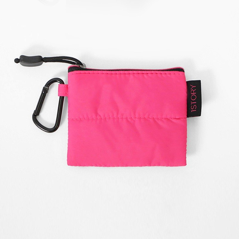 Coin Purse. Black pink ╳