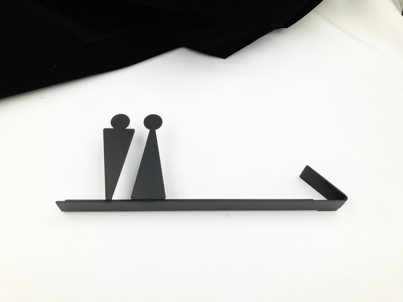 304 stainless steel toilet direction sign card dressing room listing bathroom toilet sign toilet arrow sign