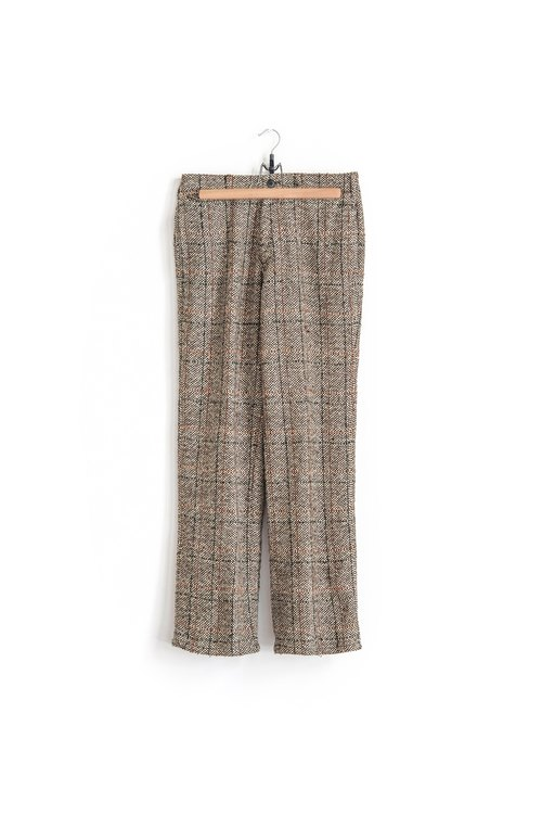 Vintage special cloth with vintage wool trousers
