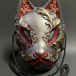 Fox face Gothic Ver. (Metal Red)