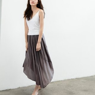 French Patch Skirt - Ink