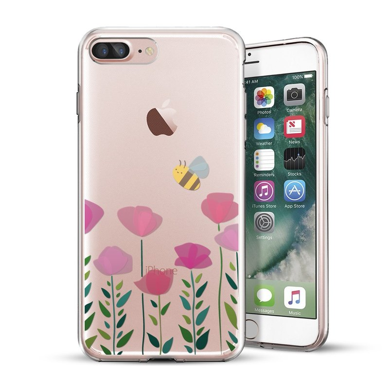 AppleWork iPhone 6/7/8 Plus Original Design Case - Honey Bee CHIP-057