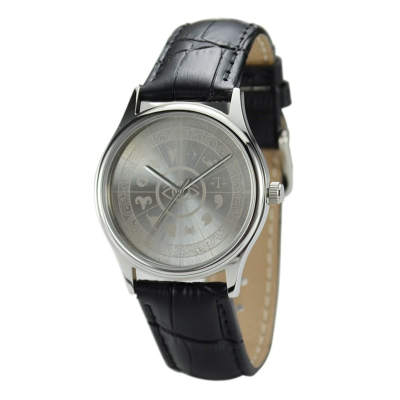12 Constellation Circle Watch (Sunray) Free Shipping Worldwide