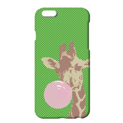 [IPhone case] Balloon gum / giraffe