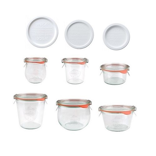 German Weck Glass Jar Combination A-Gift Box