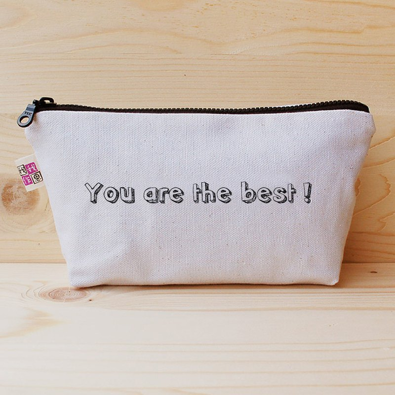 Positive energy big pencil bag - you are the best