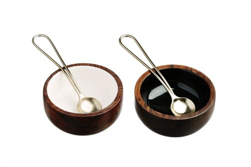 【UK】Sheesham Wood Condiment Set  - The Just Slate Company