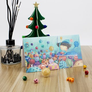 Stephy fruit literary small fresh fashion tide Christmas card S-GC002