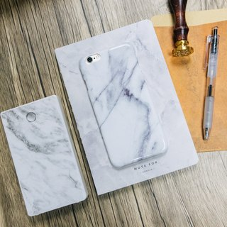 Original Imitated Classic White Marble Phone case with hard shell back case