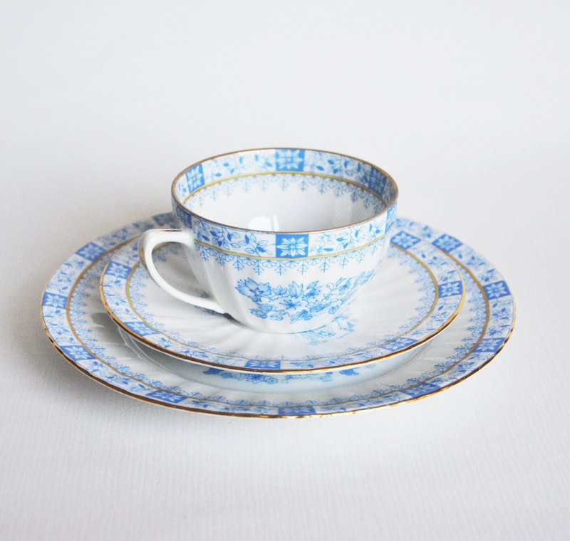 German brand Seltmann Weiden antique tea cup set