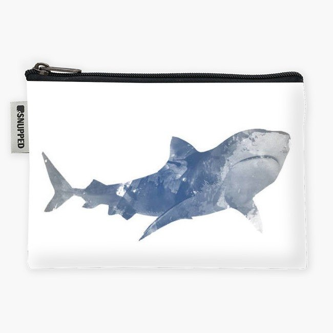 Snupped Zipper - Accessories Pouch - Shark