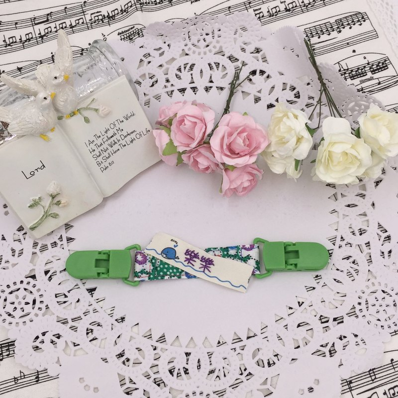 * Princess puff sugar - Hand-headed handkerchief ★ Universal clip clip pacifier clip ★ ★ ★ Name Article Kindergarten necessary Flag ★ E-44